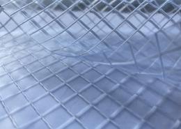 Clear PVC Mesh Tarp
