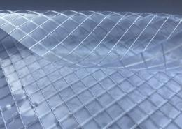 Reinforce Clear pvc fabric