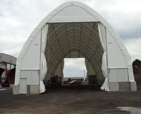 Structure hall fabric tents fabric