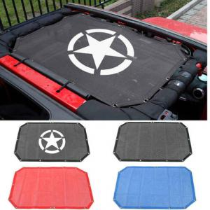 Jeep top shade cover