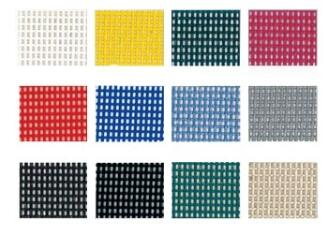 pvc coated Mesh color